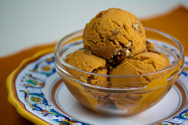 Vegan Sweet Potato Pecan Ice Cream