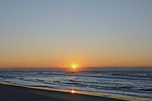 morning sky sun sunrise landscape dawn twilight northcarolina daybreak morningsky firstlight atlanticbeach tadsunrise sunrisedaily