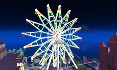 Ferris Wheel PEACOCK