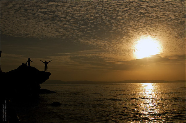 Sunrise at Blue Hole, Dahab.