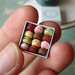 Miniature Dollhouse Food - Tiny Miniature Macaron Box