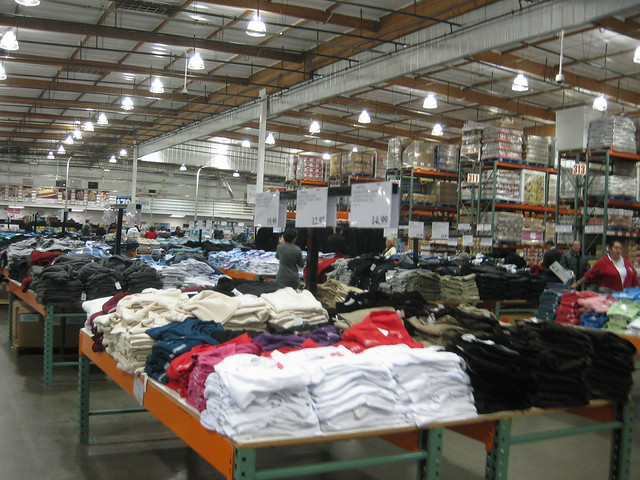 Inside Costco