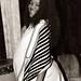 Thoko Pregnant Zulu Lady from Durban South Africa Ethnic Cultural Xhosa Dress Photo Shoot London B&W Sepia Nov 9 1999 016