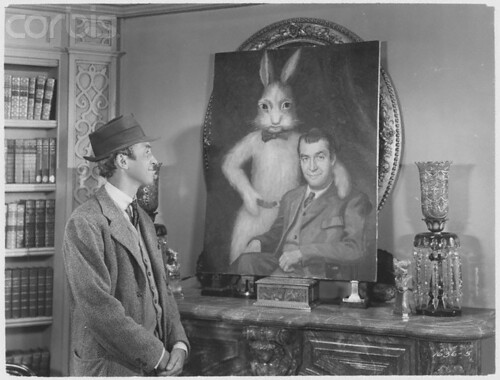 "Jimmy Stewart in ""Harvey"" 