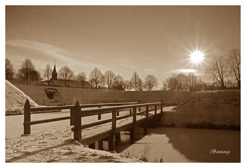 Bourtange in Sepia