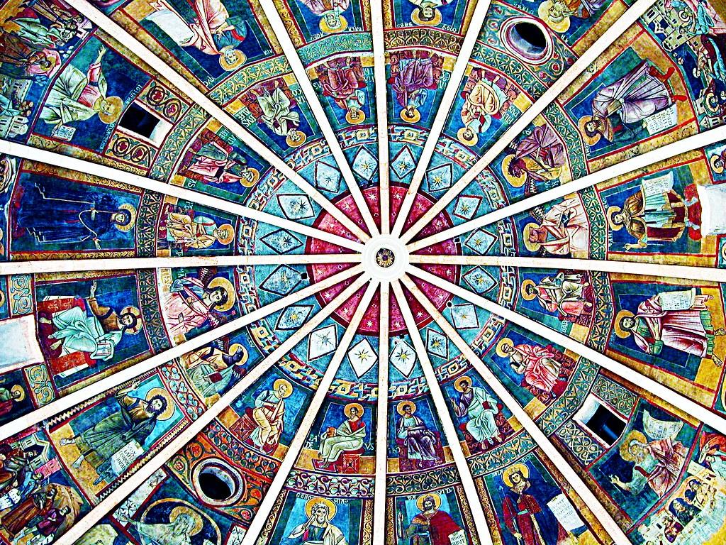 Plafond du Baptistère de Parme - Photo de Giovanni