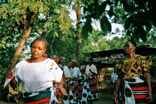 Womens inheritance dance in Tanzania