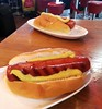 Hot dogs at Amsterdam Airport