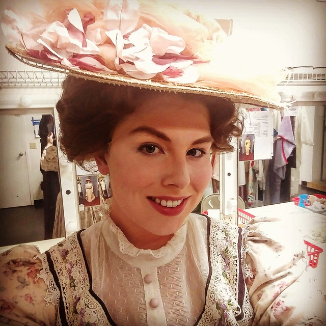 Rachelle as Kate Pinkerton