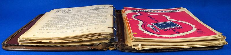 RD15283 40+ Sheet Music Booklets Oahu Publishing E-Z Method Hawaiian Guitar 1941 in Leather Notebook DSC09044