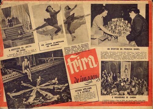 Século Ilustrado, No. 528, Fevereiro 14 1948 - contra-capa