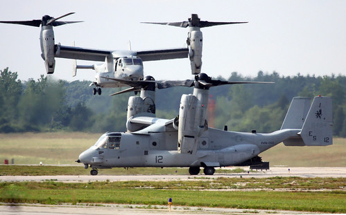 Bell Boeing MV-22 Osprey Tiltrotor - U.S.M.C. VMM-266 Fighting Griffins at KOQU