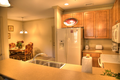 Kitchens With Cherry Cabinets And Light Counters