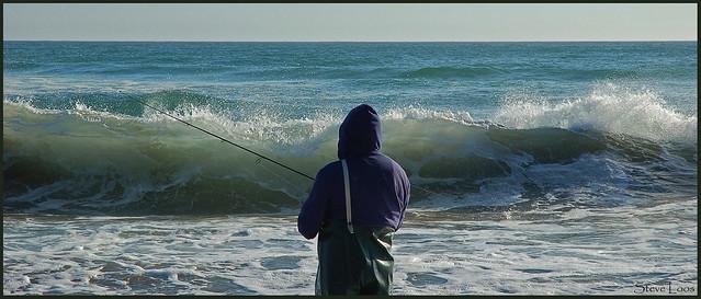 Surf fishing in monterey bay california flickr photo for Surf fishing northern california