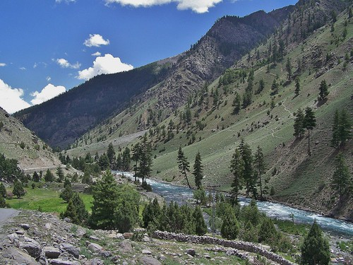 The Astore Valley in the Northern Areas of Pakistan - July 2009