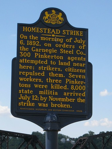 Homestead Strike - State marker