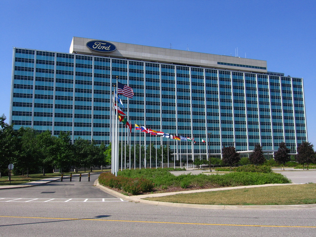 ford motor company headquarters located in dearborn