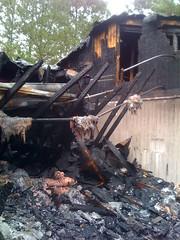 Triana Public Library fire, 2009