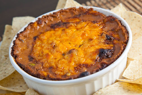 Hot Cheesy Bean Dip   Flickr - Photo Sharing!