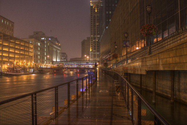 Rainy Riverwalk