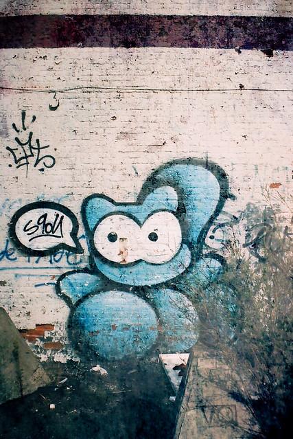 L'écureuil bleu