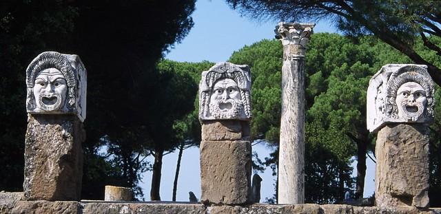 Theatre Masks, Ostia