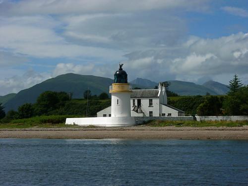 Corran ferry lighthouse
