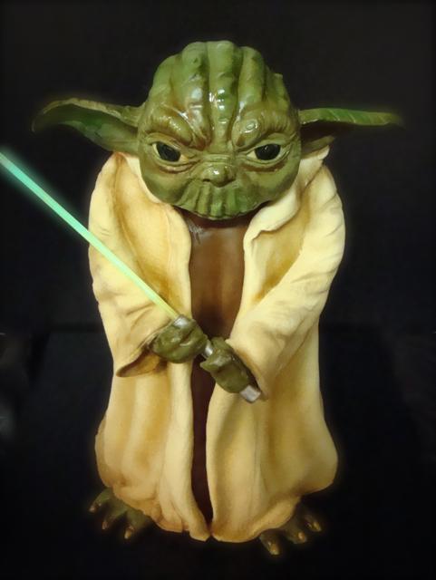 Yoda With Lightsaber Cake Flickr Photo Sharing