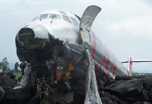 Crash d'un avion de la compagnie CAA à Goma 2