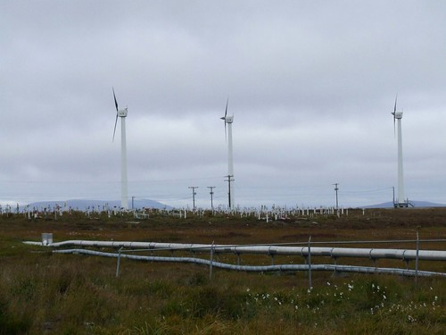 Wind Turbines & Pipeline