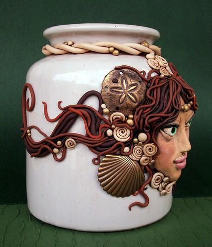 Sea Goddess Vase