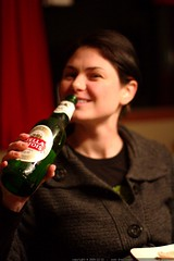 rachel 40's up with stella artois    MG 0423