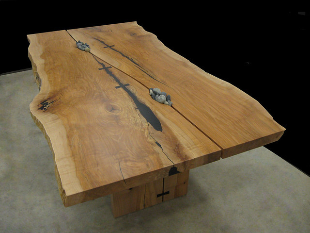Live edge character gapped slab dining table Flickr  : 42086454538f85b1d385z from www.flickr.com size 500 x 375 jpeg 143kB