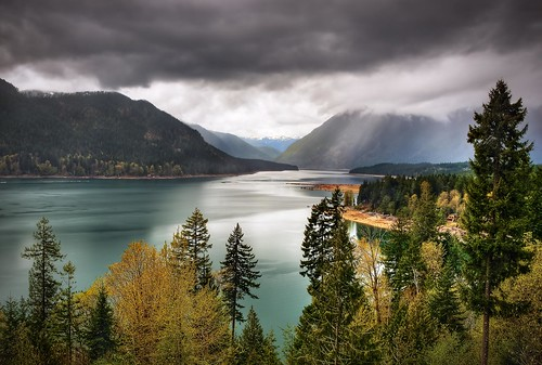 Olympic NP Through Lake Cushman Gap
