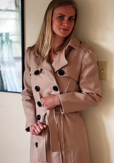 The finished trench coat