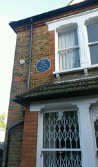 Photo of Harold Bride blue plaque