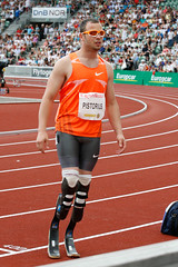 Oscar Pistorius at Bislett Games 2009
