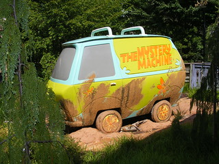 Mystery Machine Stuck In The Mud