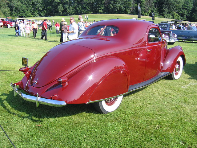 2009 meadow brook concours d 39 elegance 1937 lincoln for 1937 lincoln zephyr 3 window coupe for sale
