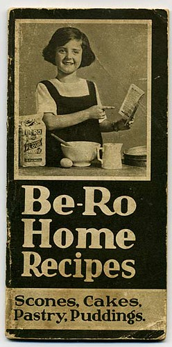 1930 - Vintage Be-Ro recipe pamphlet - cover