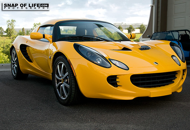 yellow lotus elise cars - photo #42