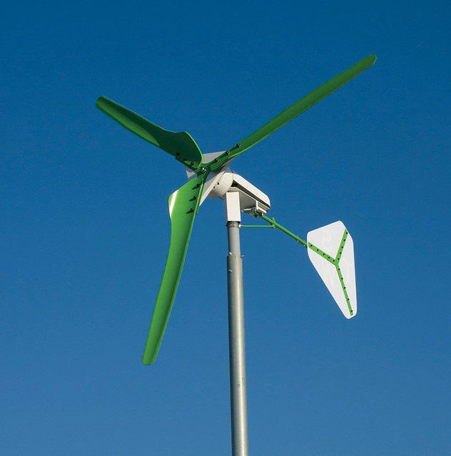 TechnoSpin's PowerSpin TSW 2000 wind turbine 2