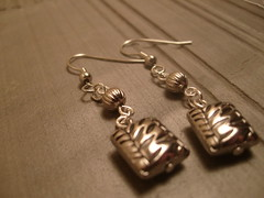The Silver Jungle Earrings