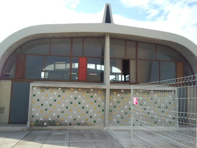 Unit d 39 habitation le corbusier marseille la cit radieuse gymnase flickr photo sharing - La cite radieuse le corbusier ...