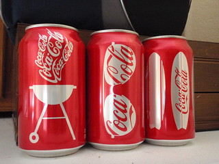 Coca-Cola cans from Summer 2009_PA041098