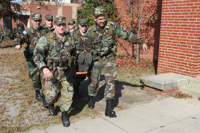 Virginia Defense Force : Virginia defense force conducts annual field training