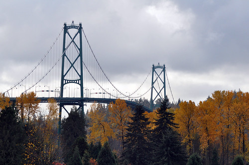 Fall at the Lions Gate