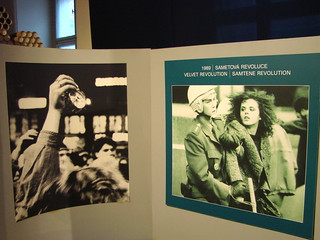 Images of Velvet Revolution 1989 - Museum of Communism - Prague, Czech Republic