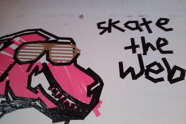 Skate The Web (tobias leingruber) at betahaus