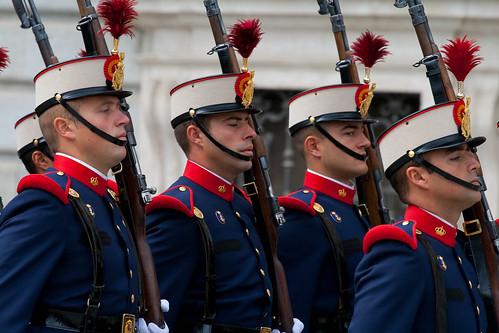 Cambio de Guardia en el Palacio Real (Madrid)